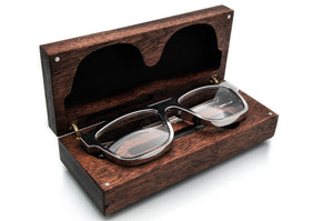 Kingsland Frame Rhodium with Hardwood Inlay