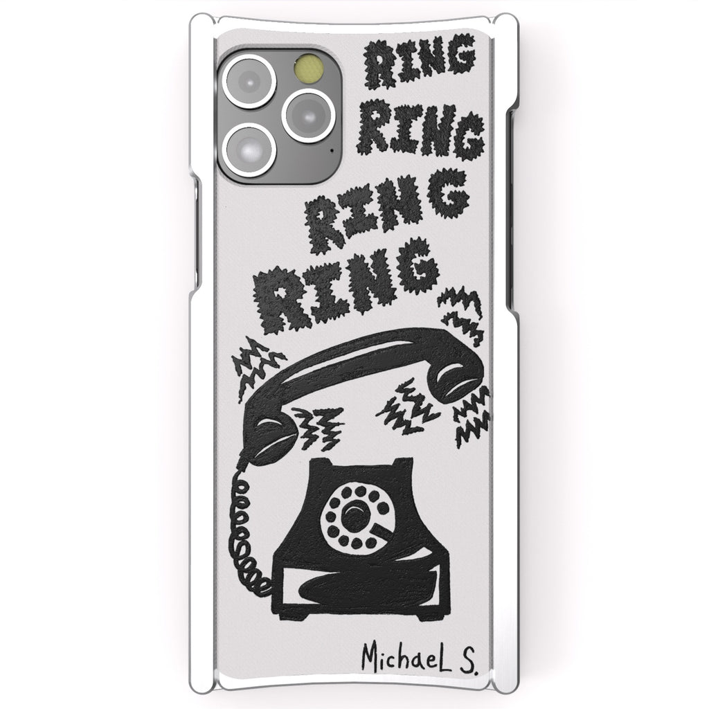 Michael Scoggins, Ring Ring Ring, Artist Edition Europa 12 Pro Max Silver Aluminum and White G10 - Preorder