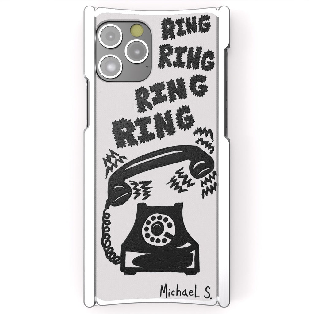 Michael Scoggins, Ring Ring Ring, Artist Edition Europa 12 Pro Silver Aluminum and White G10 - Preorder