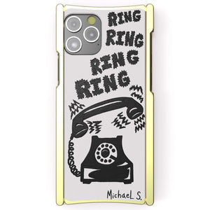 Michael Scoggins, Ring Ring Ring, Artist Edition Europa 12 Brass and White G10 - Preorder