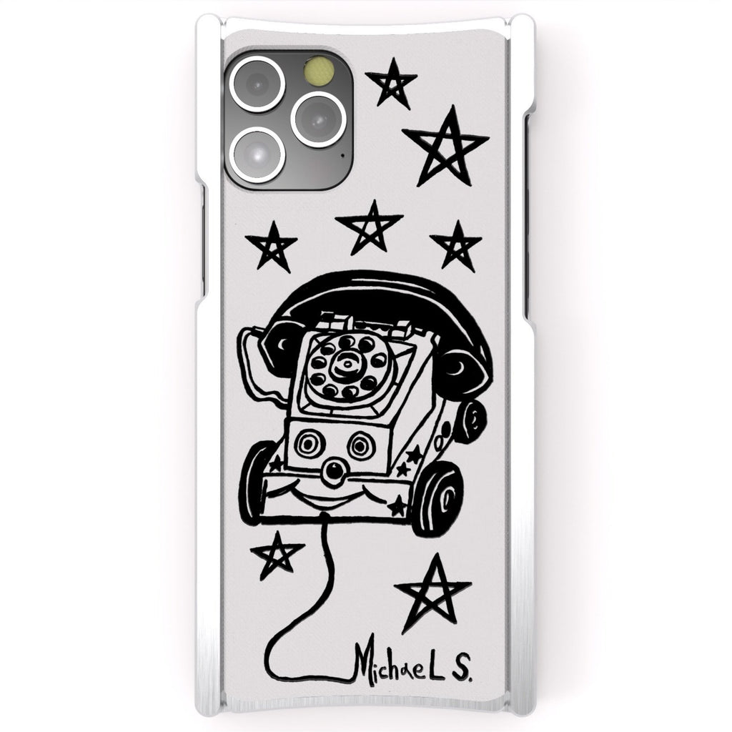 Michael Scoggins, Toy Phone, Europa 12 Pro Max Silver Aluminum and White G10 - Preorder