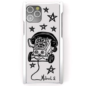 Michael Scoggins, Toy Phone, Europa 12 Pro, Silver Aluminum and White G10 - Preorder