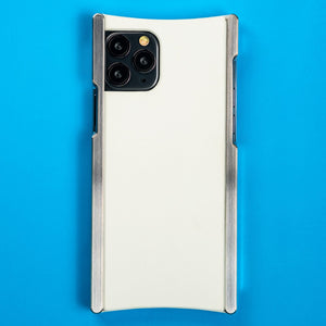iPhone 11 Pro Case, Europa case in Heritage Nickel and White G10