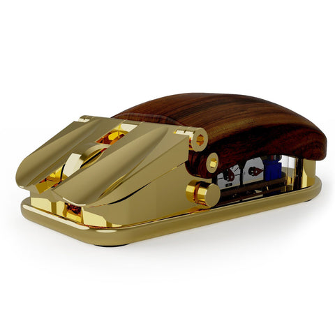Gold Plated EXOvault Mouse for Kickstarter early backers