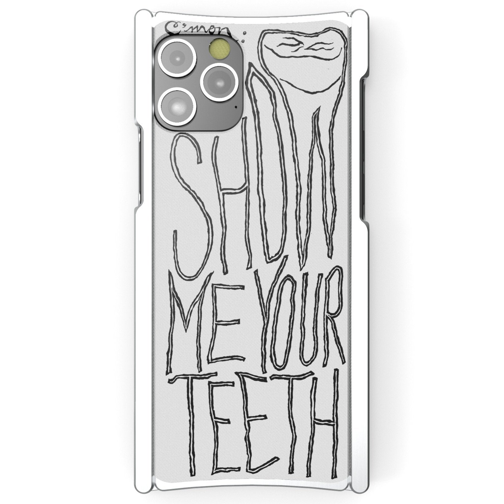 Alex Gingrow, SHOW ME YOUR TEETH, Europa 12 Pro Max Silver Aluminum and White G10 - Preorder