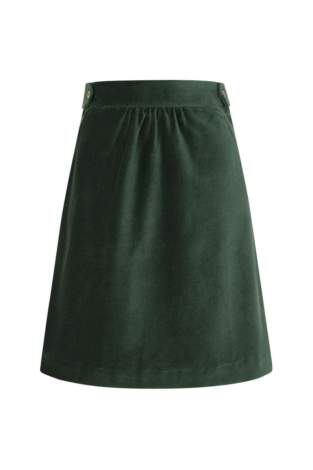 East Skirt - Dark Green Solid