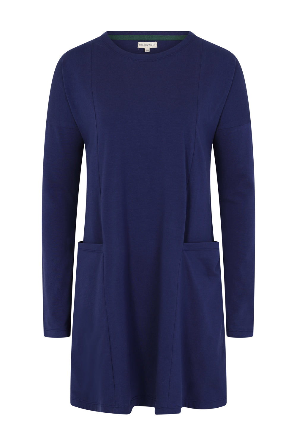 Lazy Days Tunic - Blue Solid