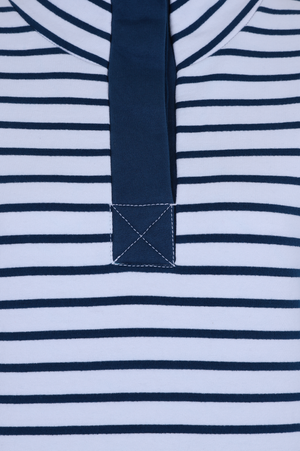Etta Sweatshirt - Navy Stripe