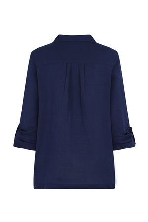 Summertime Smock - Navy