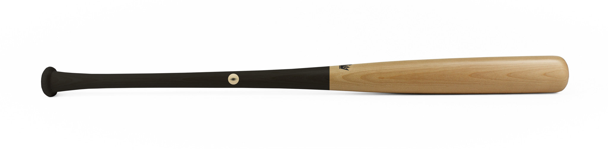 Wood bat - Birch model 141-P Black Dip - 17