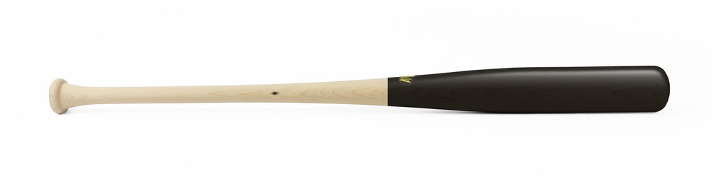 Wood bat - Maple model 243-P Black Standard - 1