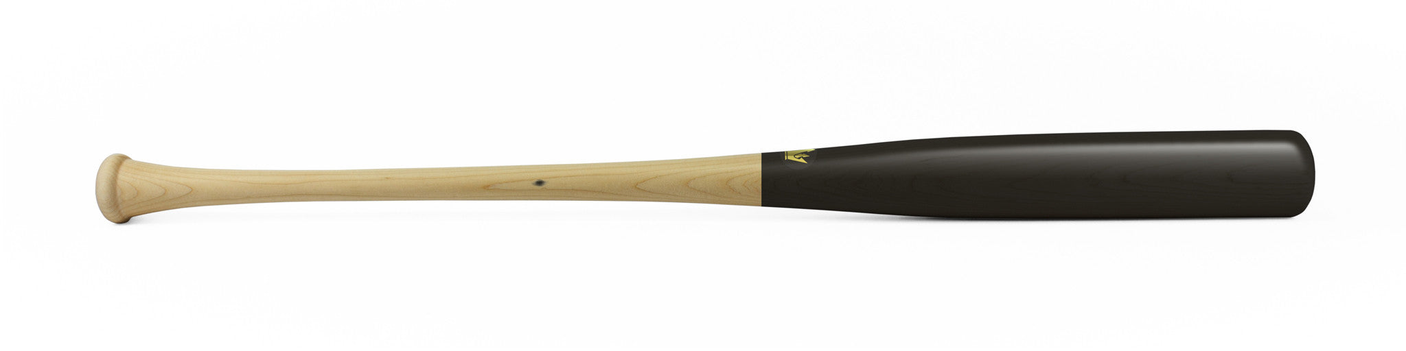 Wood bat - Birch model D25-P Black Standard - 12