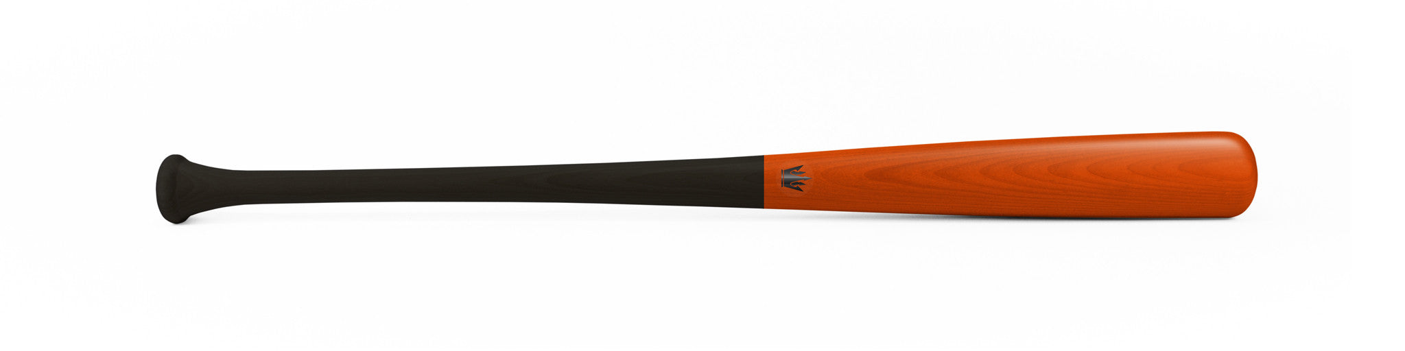 Wood bat - Birch model Y271 Black Orange - 13