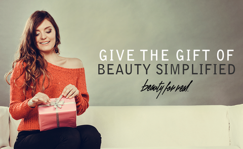 Beauty For Real holiday makeup gift sets
