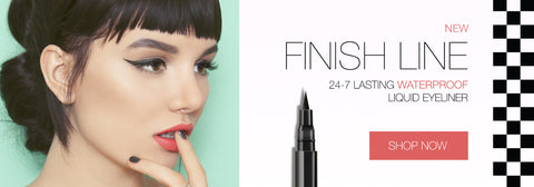 Finish Line Waterproof Liquid Eyeliner 24-7