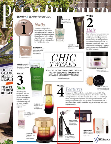 Chick Tweaks in the Palm Beacher include HI-DEF Mascara by Beauty For Real