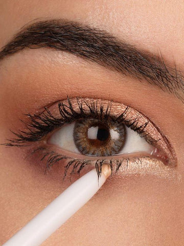 Champagne and Rose Gold Eyeliner