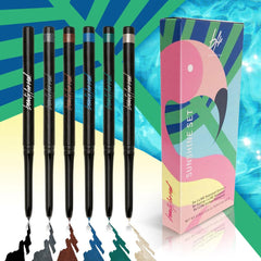 WATERPROOF EYELINER SET OF SIX $49