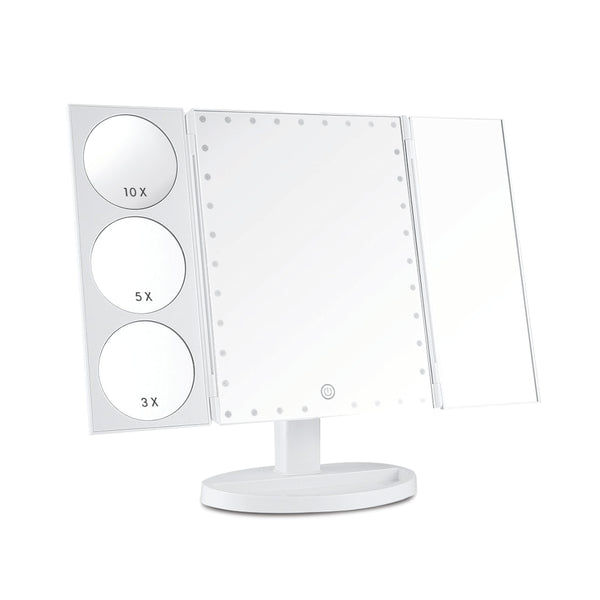 Lighted Makeup Mirror with Touch Sensor