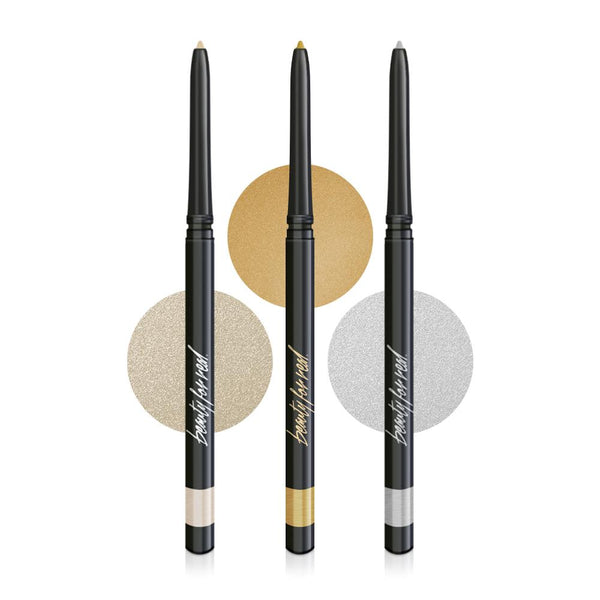Metallic Gel Eyeliner Trio