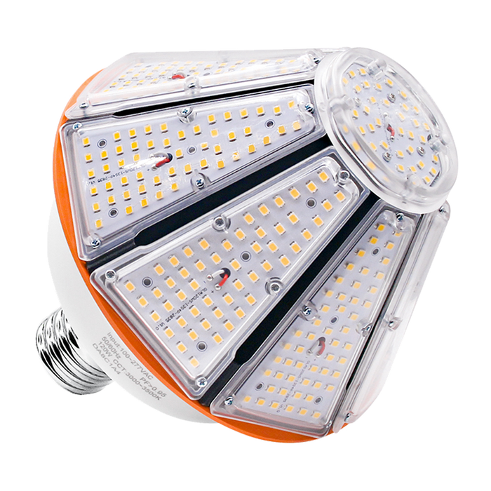 LED Pyramid Top Corn Bulb<br> 150W