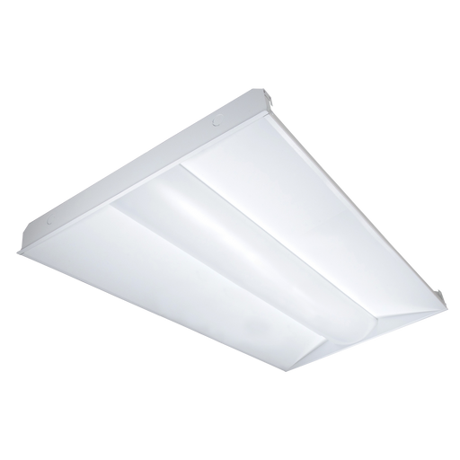 LED 2x4 ft 50W Center Basket Troffer - ONBULBLED