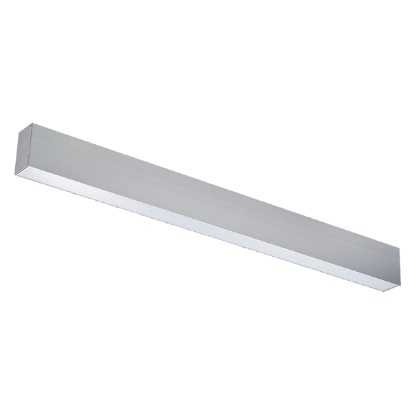 50W 4ft LED Up & Down Suspended Linear Fixture - ONBULBLED