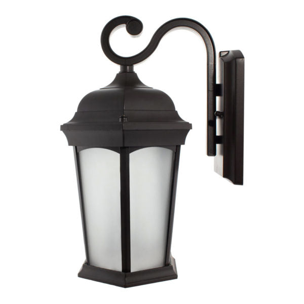 LED Outdoor Wall Lantern 12.5W Frosted Glass