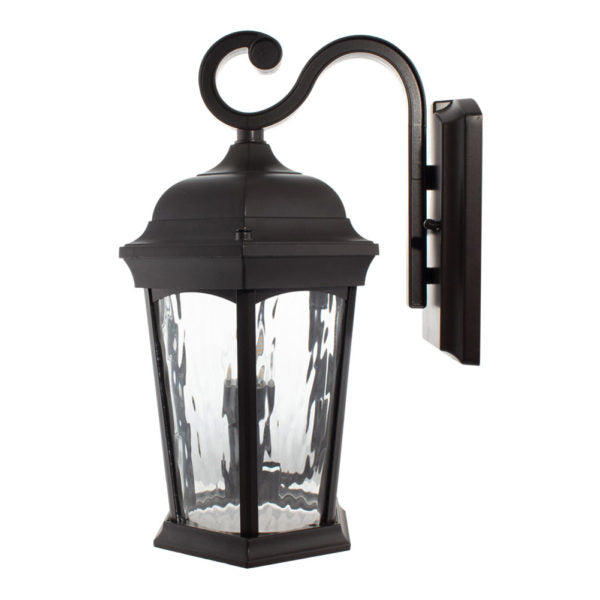 LED Outdoor Wall Lantern 12.5W Water Glass