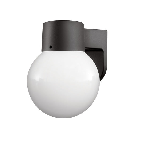 LED Outdoor Globe Wall Light 9W