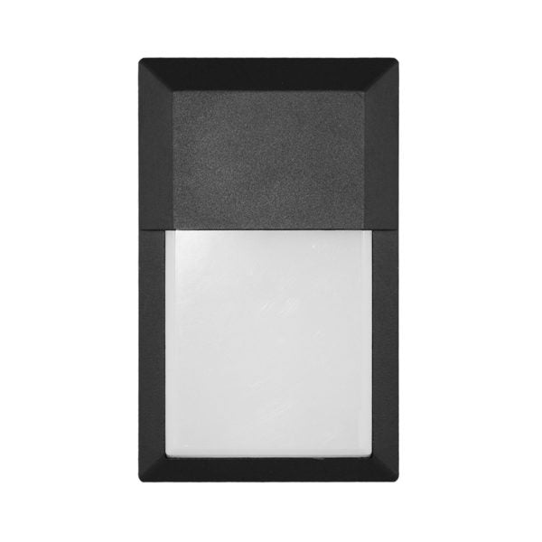 LED Outdoor Mini Wall Pack 12W with Dusk-to-Dawn Sensor