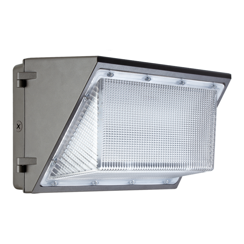 LED 140W Large Wall Pack<br> AC347-480V <br> Non-Dimmable - ONBULBLED
