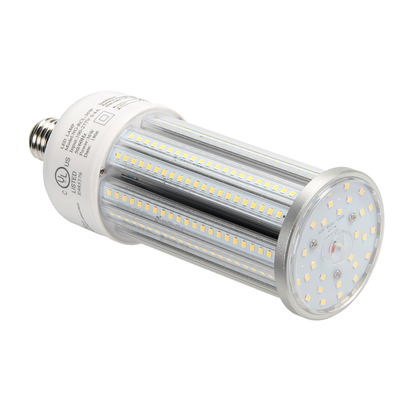 LED Corn Bulb with PC Cover 36W