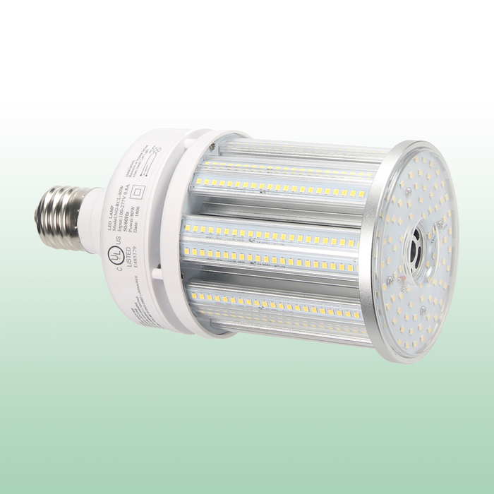 LED Corn Bulb with PC Cover 80W