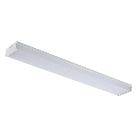 80W 8ft LED Wraparound Linear Fixture - ONBULBLED