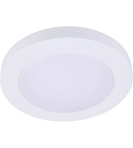 LED 11.5W 4 in. Round Flat Disk Light - ONBULBLED