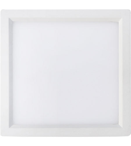 LED 10W 4 in. Square Recessed Disk Light - ONBULBLED