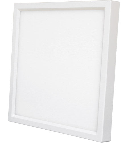 LED 15W 6 in. Square Recessed Disk Light - ONBULBLED