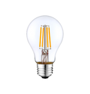 LED Filament A19 Bulb - Clear Glass- Dimmable - 4 Watt - 5000K -<br> Daylight - ONBULBLED