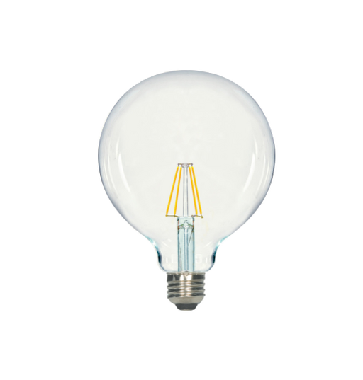 LED Filament G40 Bulb - Clear Glass- Dimmable - 5 Watt - 3000K -<br> Soft White - ONBULBLED
