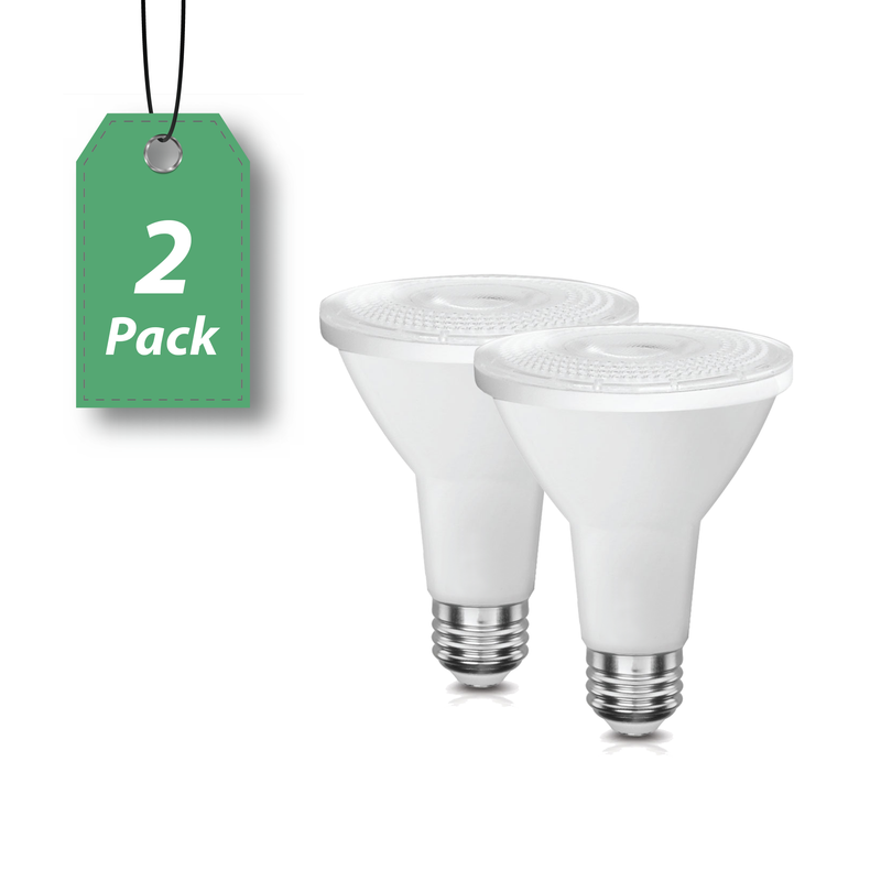 LED PAR38 12W Directional Wide Spotlight - Dimmable -2 Pack