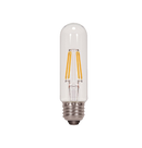 LED Filament T10 Bulb - Clear Glass- Dimmable - 4 Watt - 5000K -<br> Daylight - ONBULBLED