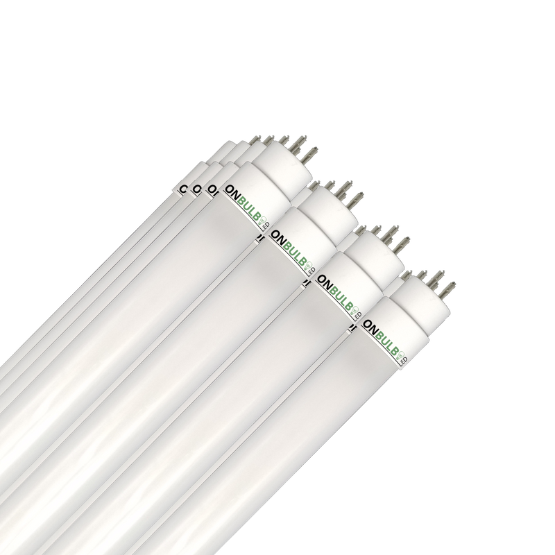 4' LED 25 Watt T5 Bulb - Direct Wire - High Output -<br>54W Replacement  - 3,500lm - 24 Pack ($13.10 per bulb) - ONBULBLED