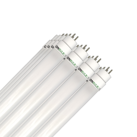 4' LED 24 Watt T5 Bulb - Plug&Play - High Output -<br>54W Replacement - 3,450lm - Case of 24 ($11.10 per bulb) - ONBULBLED