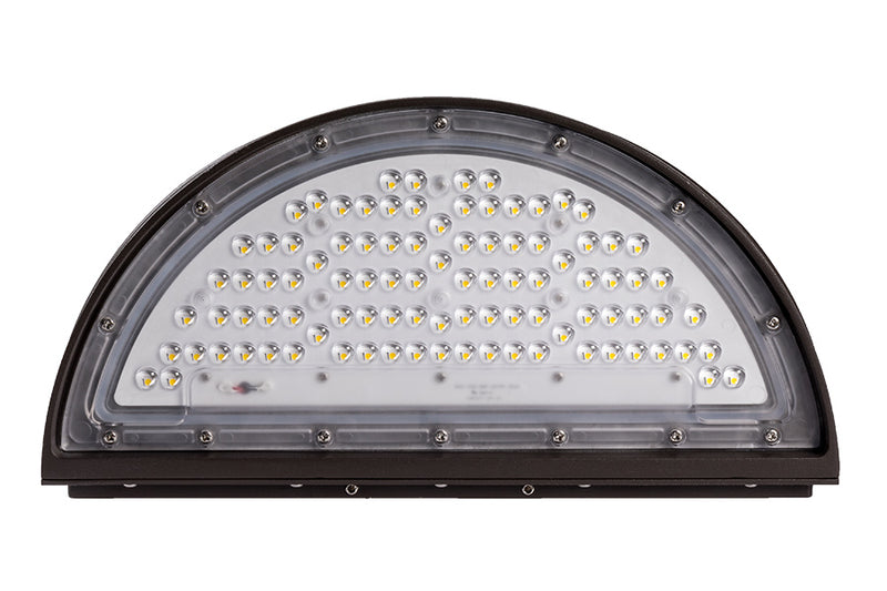 70W LED Football Cut-Off Wall Pack - ONBULBLED