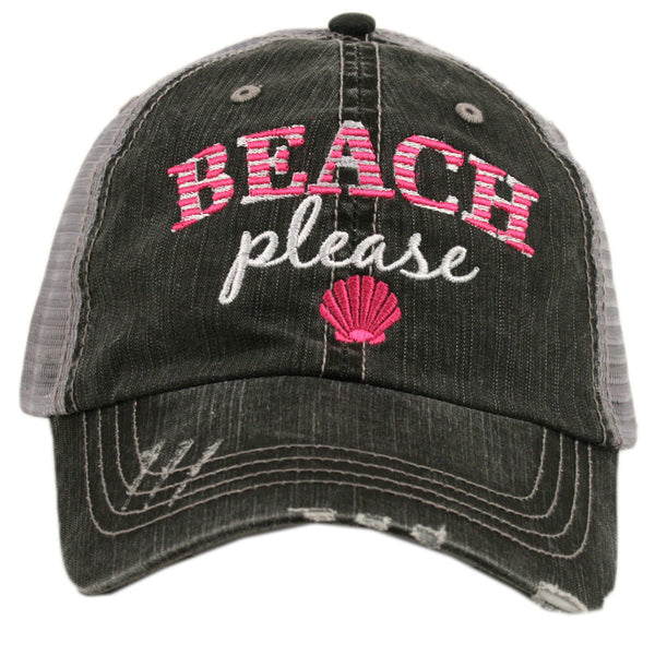 """Beach Please"" Trucker Hat 