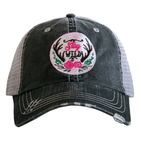 """Stay Wild"" Trucker Hat"