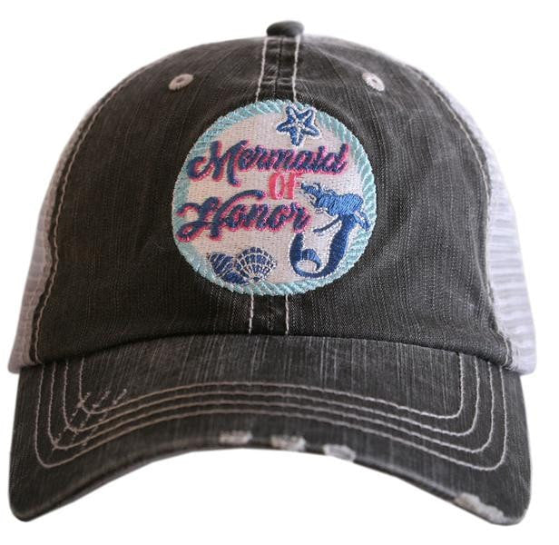 """Mermaid Of Honor"" Trucker Hat"