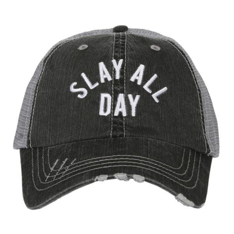 """Slay All Day"" Trucker Hat"