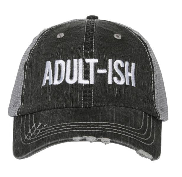 """Adult-ish"" Trucker Hat"